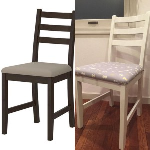 DIYでIKEAの椅子をアレンジしてみた